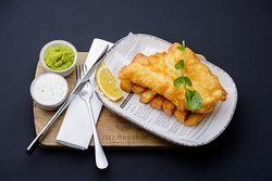 Brehon Battered Fish and Chips