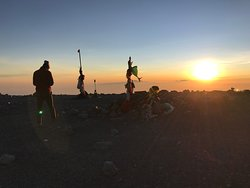Sunrise from Semeru summit