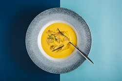 Pumpkin and Porcini soup