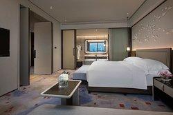 洲际高级套房卧室