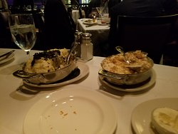 lobster mac n cheese and truffle potatoes