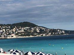 Promenade des Anglais & the Mediterranean - Sea Nice, France
