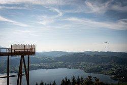 Aussichtsplattform in Richtung Gmunden | Foto: ISARBLOG Monika Schreiner