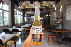 Icy Cold Beer @ Burger Me