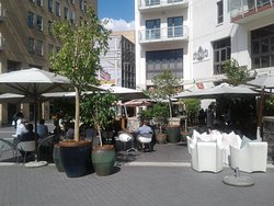 Lunch at Melrose Arch
