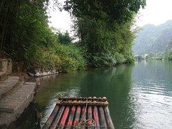 Great bamboo raft