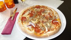 Den ene pizza