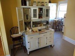 Old farm kitchen cupboard