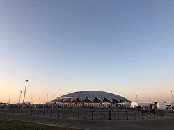 Стадион в августе 2018