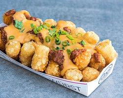 CHILI CHEESE FRIES OR TOTS