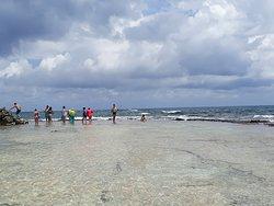 Impecables aguas y arena
