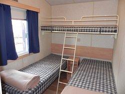 deuxième chambre du Mobil'home Cottage