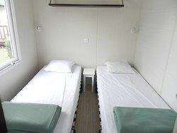 deuxième chambre d'un mobil'home O'Hara