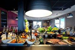 Le restaurant - buffet des entrées