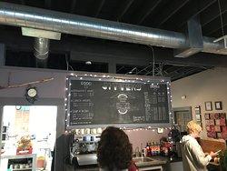 Chalk menu - ask for the small full menu
