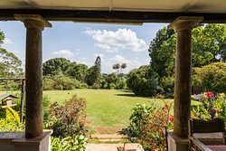The view from the verandah