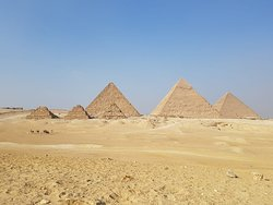 Astounding, astonishing, stupendous etc.etc adjectives are not enough to describe the mammoth pyramids in Giza