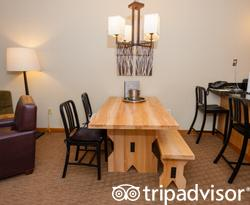 The One Bedroom Suite at The Tram Haus Lodge at Jay Peak Resort