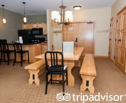The Three Bedroom Suite at The Tram Haus Lodge at Jay Peak Resort