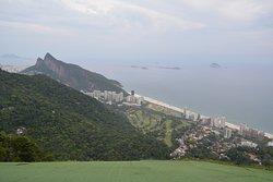 Vista da rampa de vôo livre na Pedra Bonita - Rio de Janeiro //  View from Paragliding Ramp