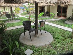 Garden view/ Seating area