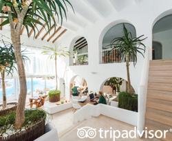 Concierge Area at the Hacienda Na Xamena, Ibiza