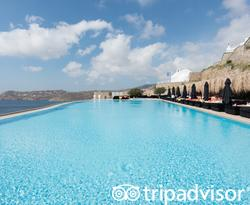 The Pool at the Myconian Villa Collection