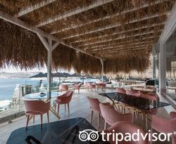 Restaurant at the Myconian Villa Collection