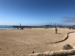 Santa Cruz Harbor Beach
