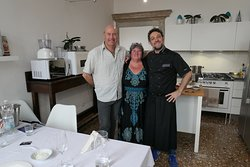 Happy cooks and Chef Michele