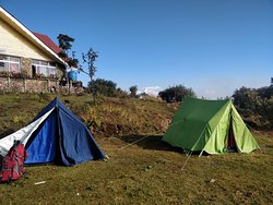 Camping on tonglu