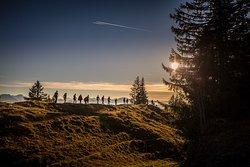 Grad-Wanderung im Naturpark Nagelfluh