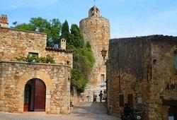 Pueblo medieval de Pals