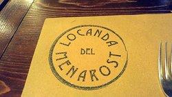 logo on menu