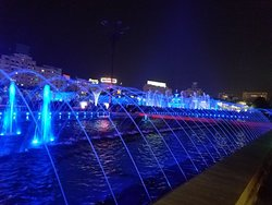 Lights, Music, Water....be careful, it becomes interactive!