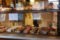 One of the many cichetti bars in Venice.