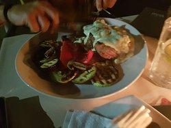 Amazing steak