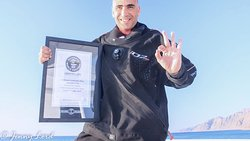 3 Guinness World Records; Deepest Scuba Dive 332.35m, Largest Underwater Clean-Up, Deepest Sea D