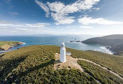 A vist to Cape Bruny Lighthouse and Lighthouse Tour a must