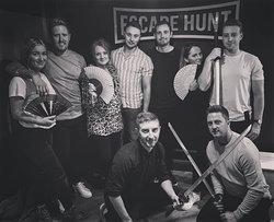 Escaped friends!