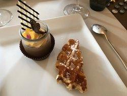 Pot de crème chocolat & gaufre