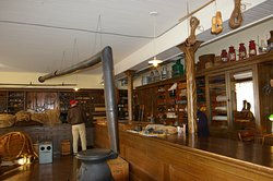 The Robertson Ship Chandlery where all kinds of nautical needs can be seen