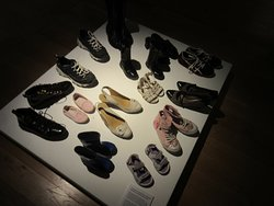 liked this shoe exhibit