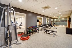 Our amazing new fitness center