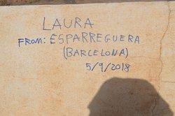 her graffiti somewhere!