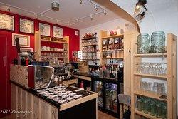Café spécialisé dans les boissons expresso