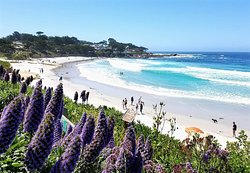 Carmel Beach Boardwalk
