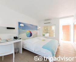 The Standard Room at the Petasos Beach Hotel & Spa