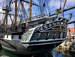 HMS Trincomalee, Royal Navy, and Hartlepool Museum walk from guesthouse. Ticket valid 1 year