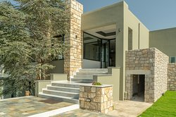 Entrance of Achilles Hill Hotel, Methoni